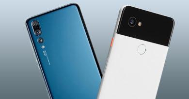 Huawei P20 Pro vs Google Pixel 2 XL  – foto porównanie